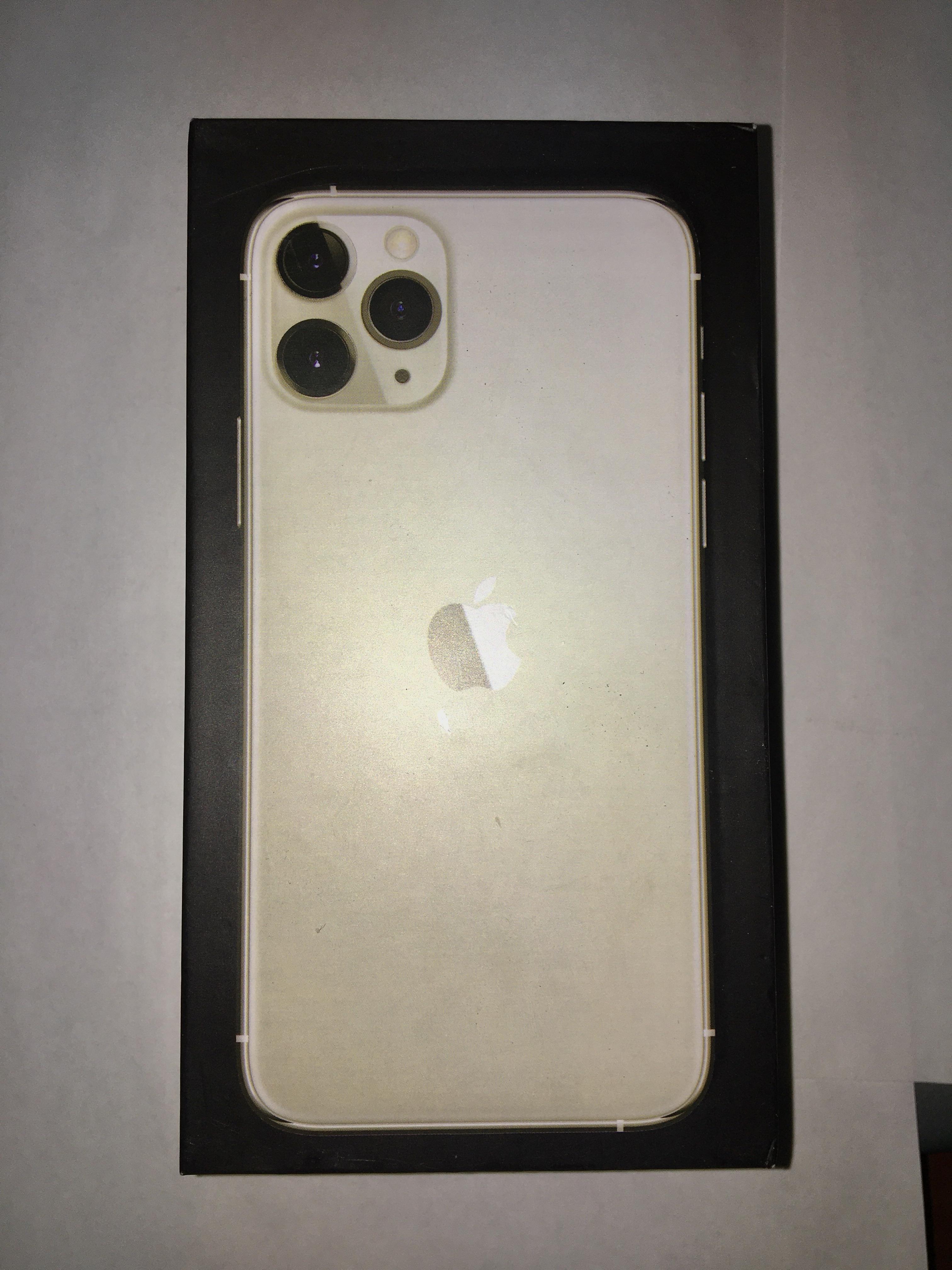 коробка iphone 11 pro gold