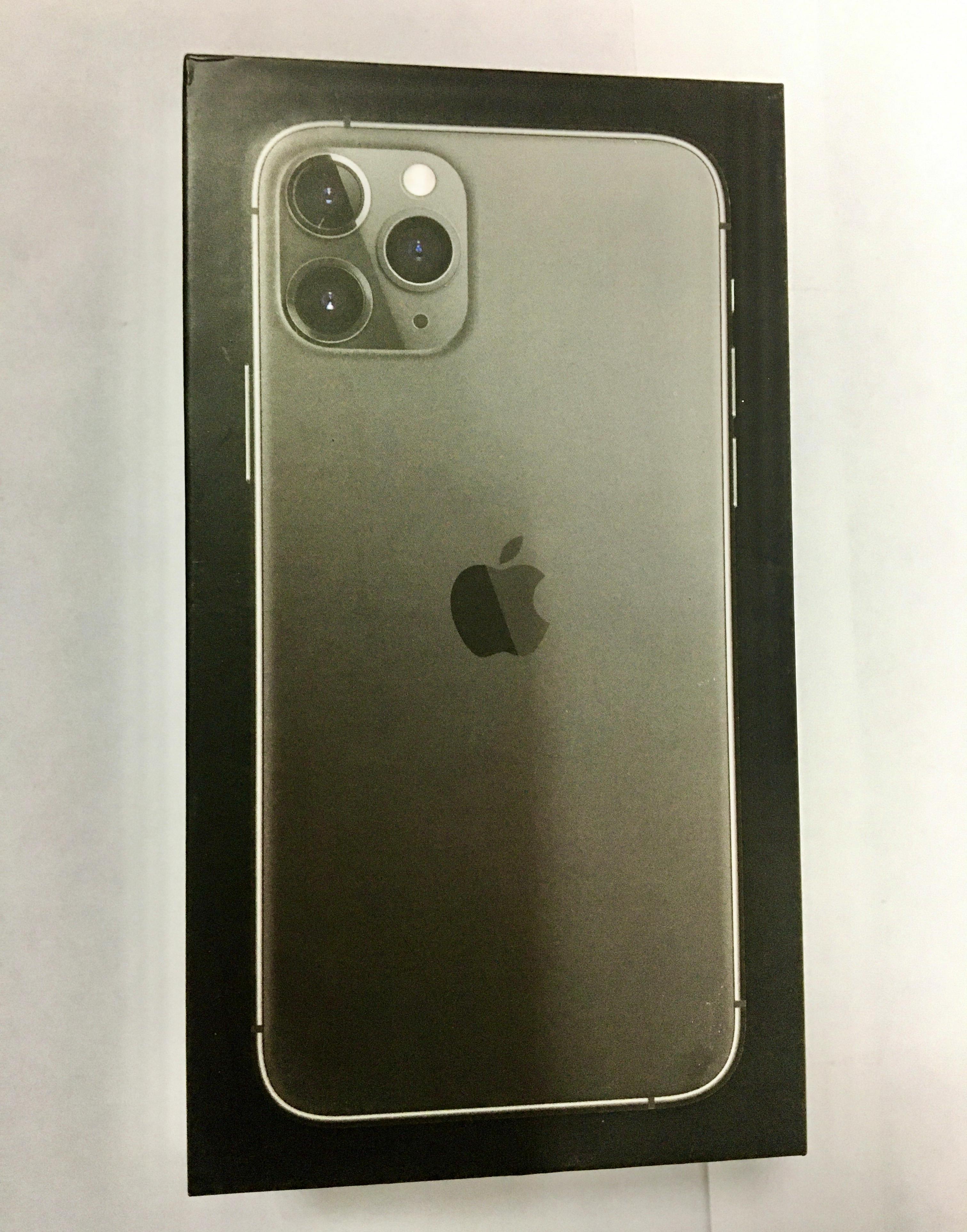 коробка iphone 11 pro space gray