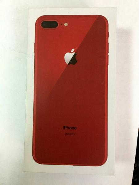 купить коробку на красный iPhone 8 Plus RED
