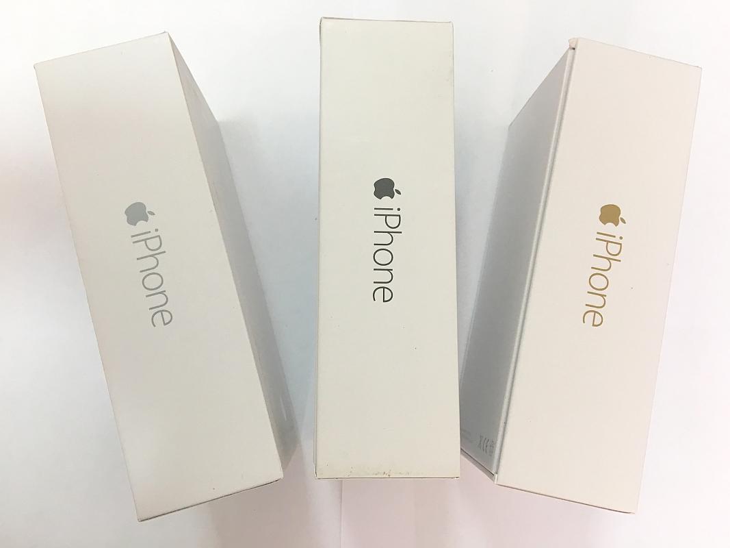 коробка на apple iphone 6