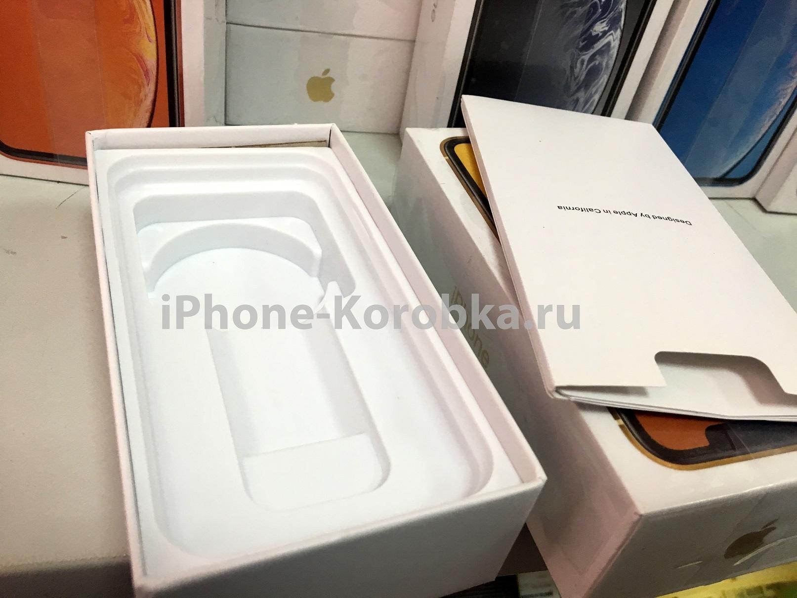 коробка iphone XR