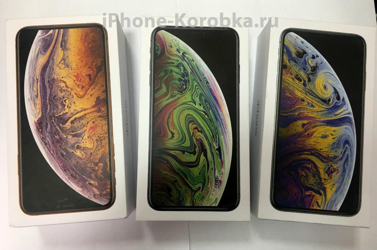 коробка iphone Xs max